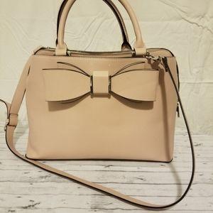 Betsey Johnson lightpink shoulder or handle purse